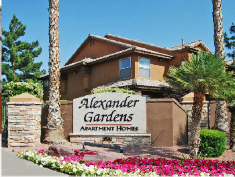 Alexander Gardens Apartments Las Vegas Nevada